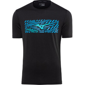 Mizuno Impulse Core T-shirt Homme, black